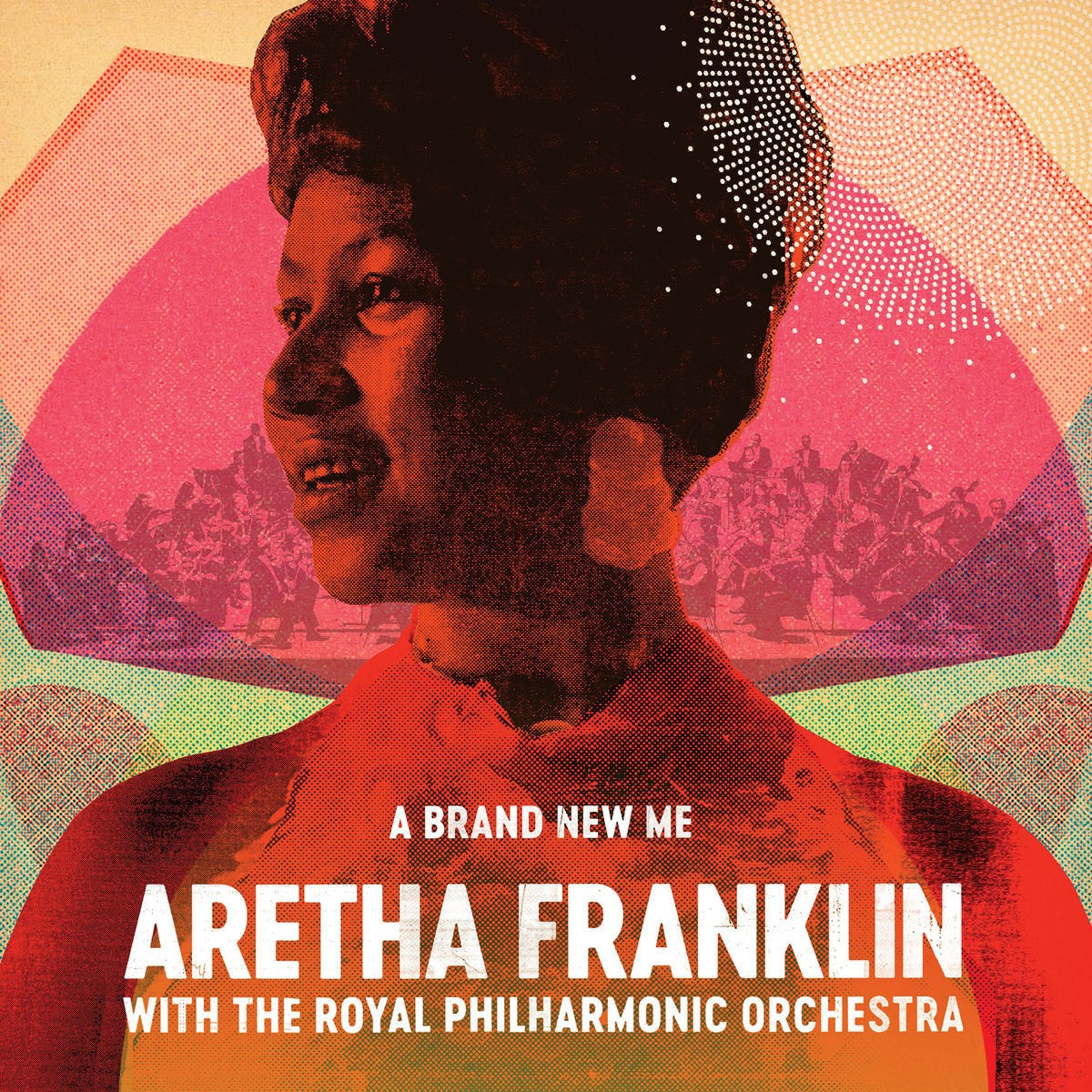 Aretha Franklin With The Royal Philharmonic Orchestra - Brand New Me CD - CDESP 471