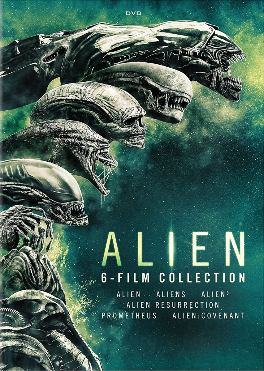 alien 6 film collection boxset dvd echo 39 s record bar online store. Black Bedroom Furniture Sets. Home Design Ideas