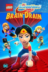 LEGO DC Super Hero Girls: Brain Drain DVD - Y34707 DVDW