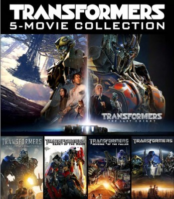 Transformers: 5 Movie Collection DVD - 90564 DVDP