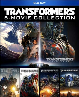 Transformers: 5 Movie Collection Blu-Ray - 90564 BDP