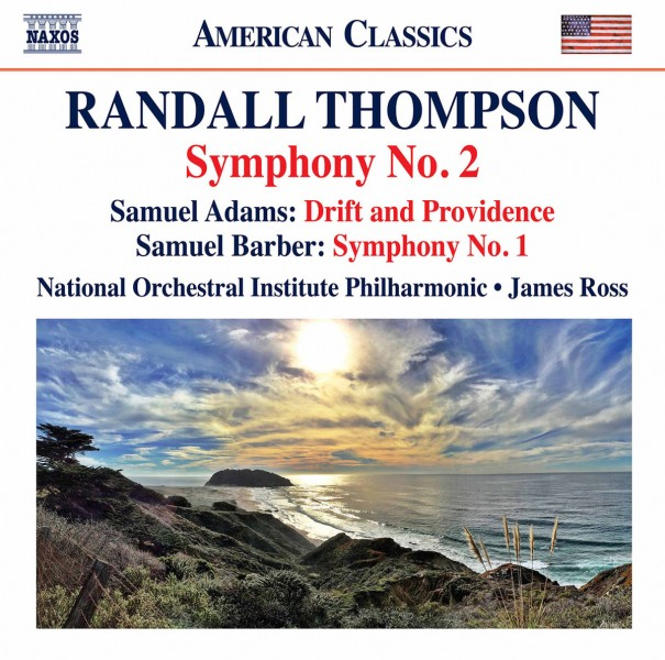 National Orchestral Institute Philharmonic & James Ross - Thompson: Symphony No. 2 - Samuel Adams: Drift & Providence - Barber: Symphony No. 1 CD - 8559822