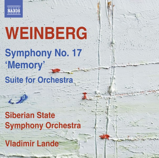 """Siberian State Symphony Orchestra & Vladimir Lande - Weinberg: Symphony No. 17, Op. 137 """"Memory"""" & Suite for Orchestra CD - 8573565"""