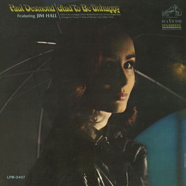 Paul Desmond - Glad To Be Unhappy CD - CDRCA7537
