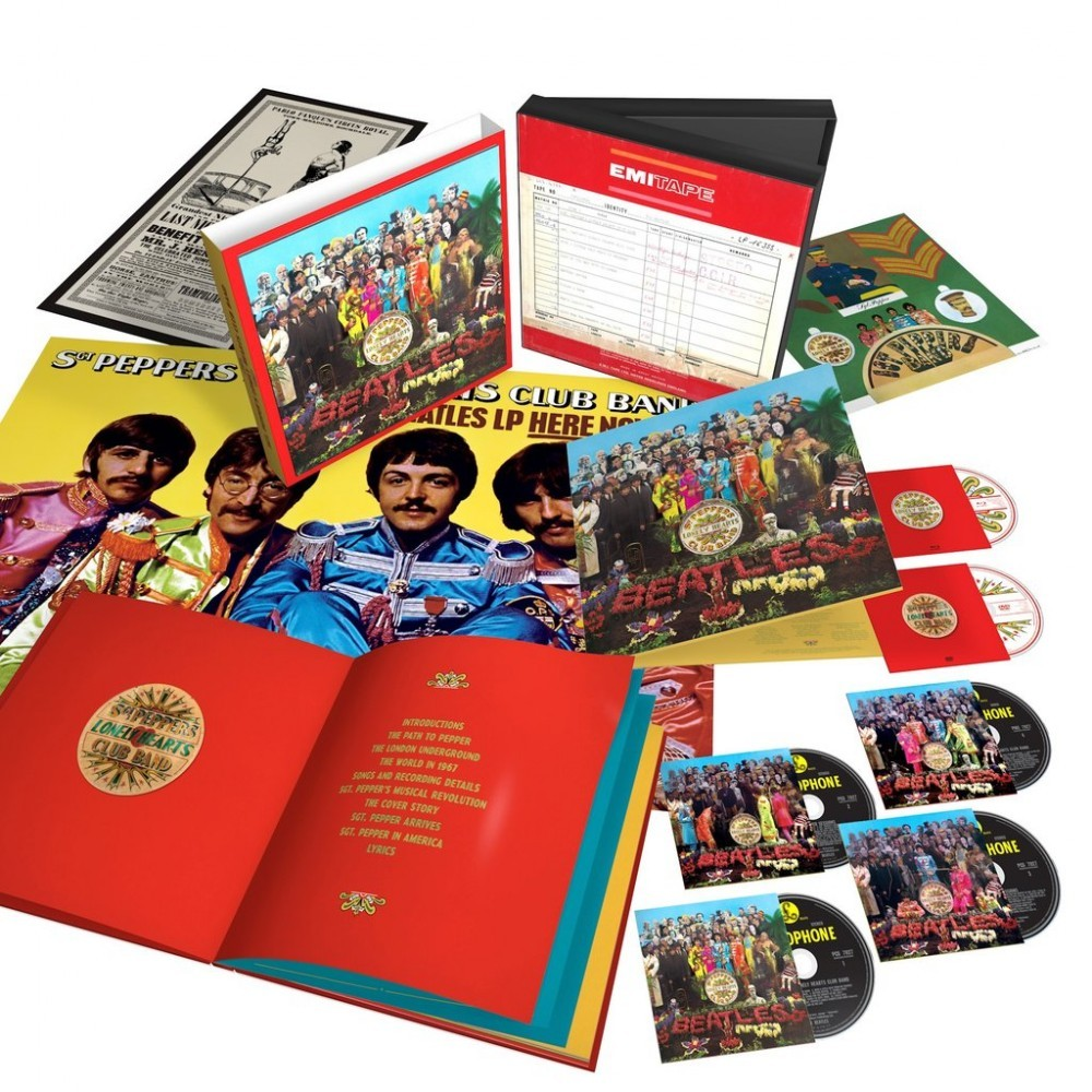 The Beatles - Sgt. Pepper's Lonely Hearts Club Band Super Deluxe (2017 Anniversary Edition) CD - 06025 5745532