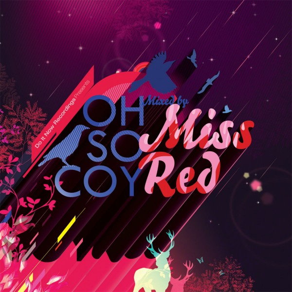 Miss Red - Oh So Coy: Mixed by Missred CD - DINCD013