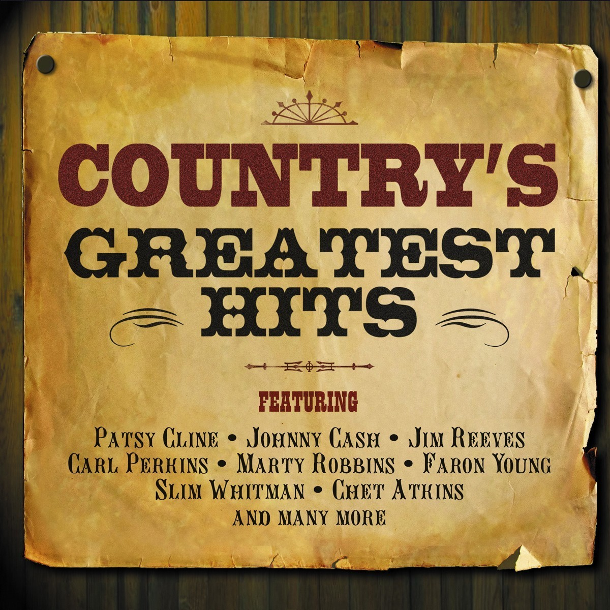 Country's Greatest Hits CD - NOT2CD225
