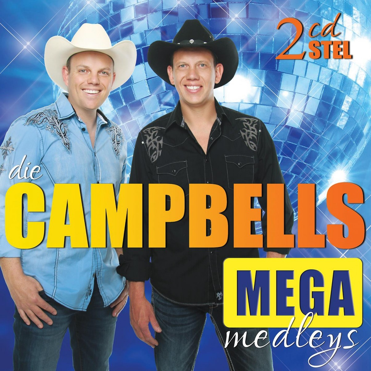 Die Campbells - Mega Medleys CD - CDJUKE 178