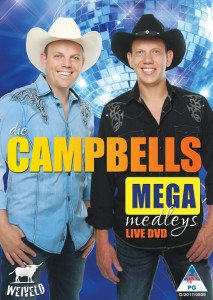 Die Campbells - Mega Medleys Live DVD - CAMP006D