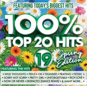 100% Top 20 Hits 19 - Spring Edition CD - CSRCD410