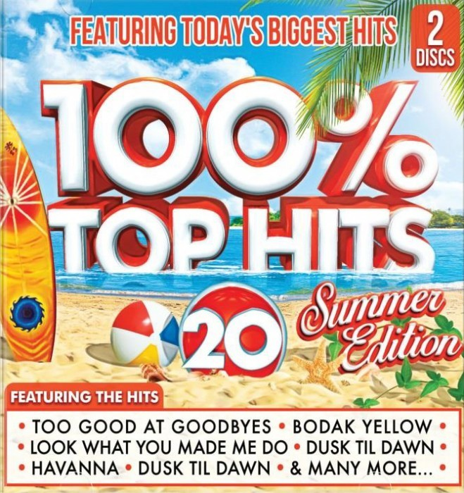 100% Top Hits 20 - Summer Edition CD - CSRCD412