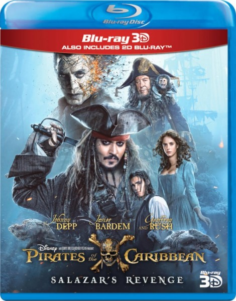Pirates of the Caribbean: Salazar's Revenge Blu-Ray+3D Blu-Ray - 10227772