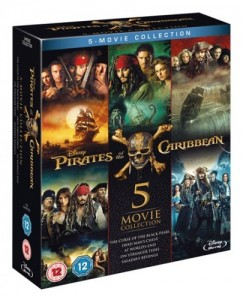 Pirates of the Caribbean 5 Movie Collection DVD - 10227773