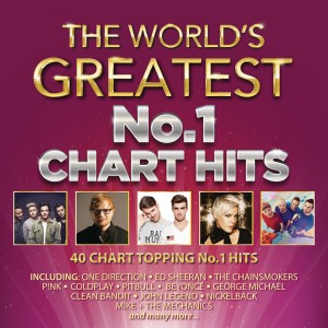 The World's Greatest No.1 Chart Hits CD - CDBSP3381