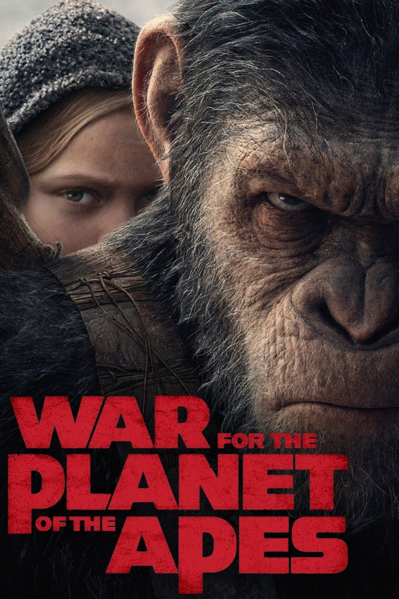 War for the Planet of the Apes DVD - 78481 DVDF