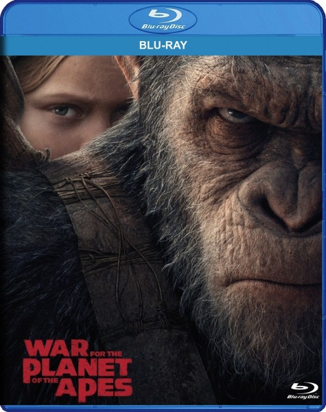War for the Planet of the Apes Blu-Ray - BDF 78481