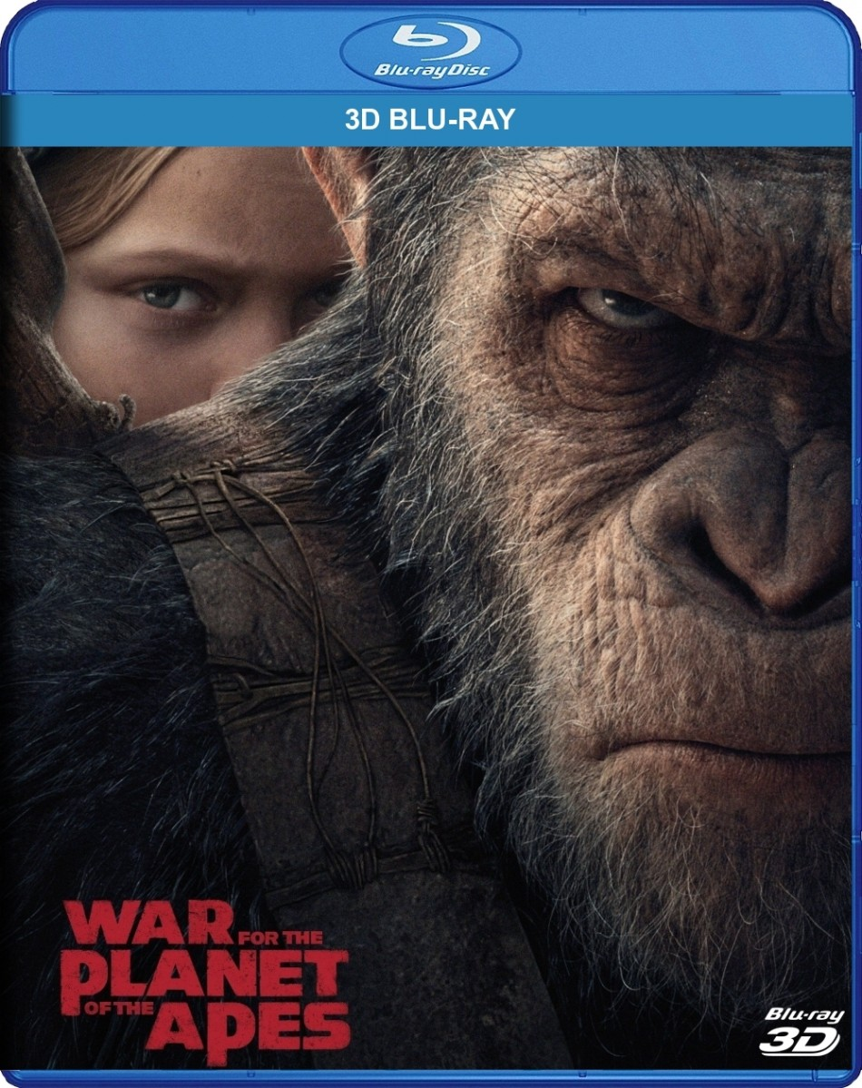 War for the Planet of the Apes 3D Blu-Ray - 3D BDF 78481