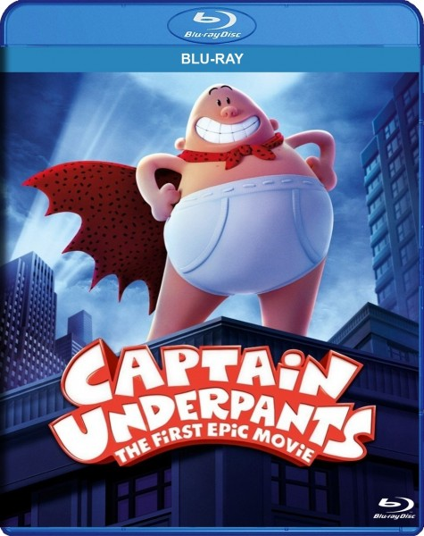 Captain Underpants: The First Epic Movie Blu-Ray - BDF 73400