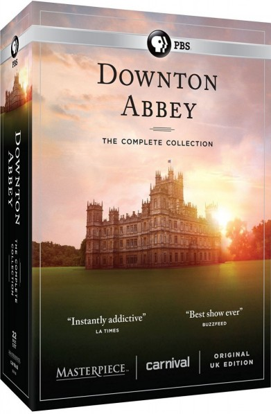 Downton Abbey: The Complete Collection DVD - 100710 DVDU