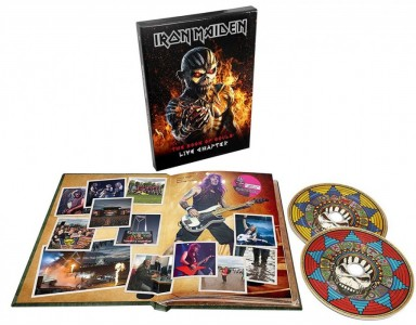 Iron Maiden - The Book of Souls: Live Chapter (Deluxe Hardcase Book) CD - 9029576019