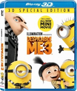 Despicable Me 3 3D Blu-Ray - 3D BDU 73622