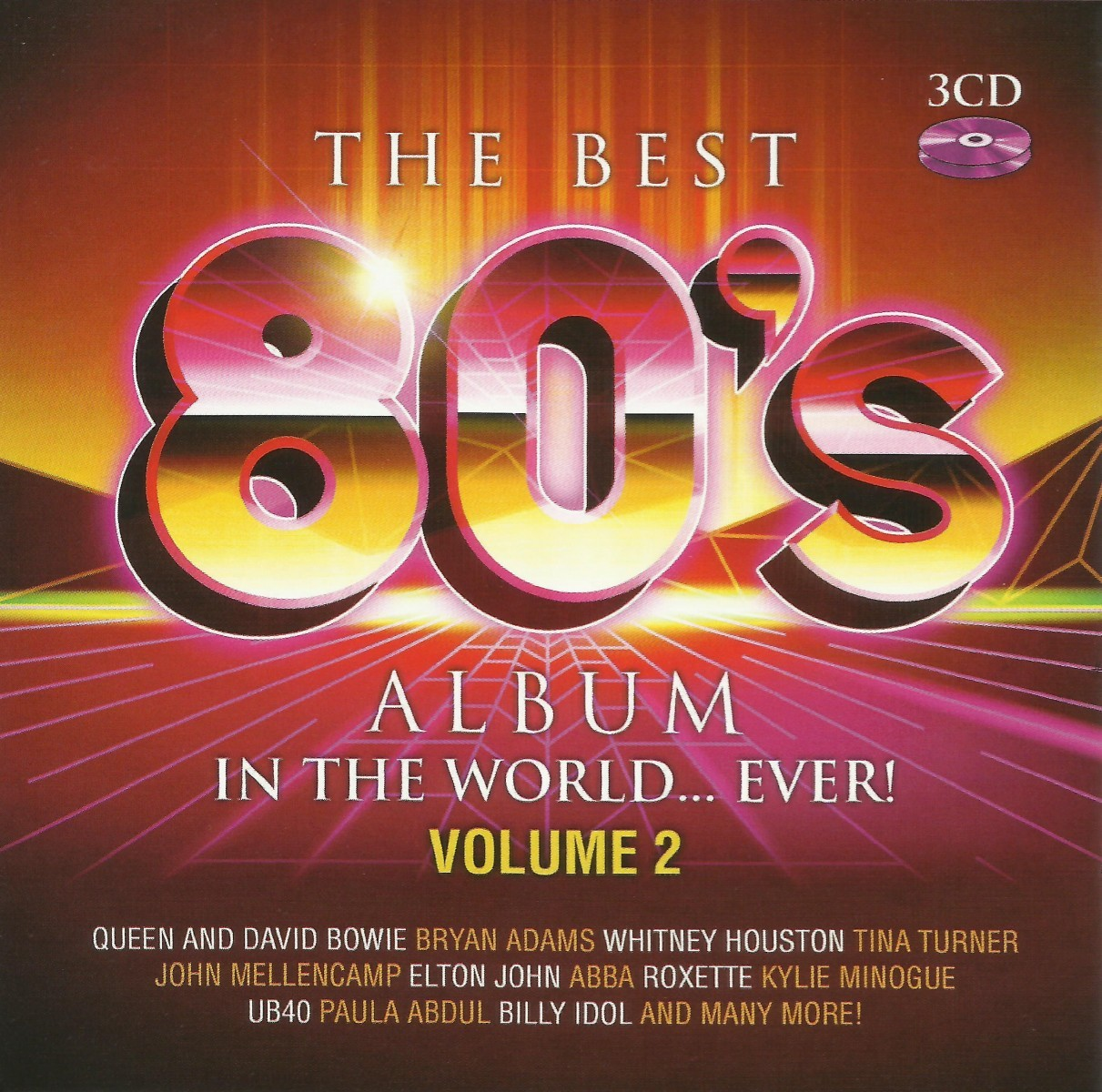 The Best 80's Album In The World...Ever Vol.2 CD - DARCD 3169