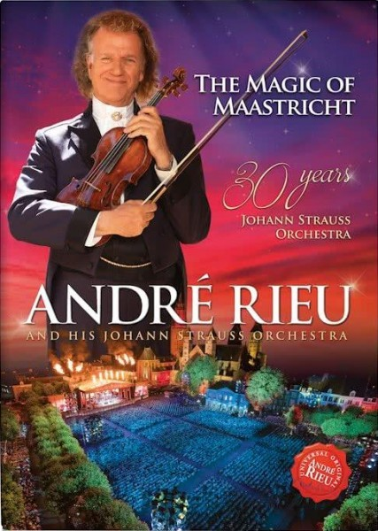 Andre Rieu - Magic Of Maastricht - 30 Years DVD - 06025 5790042