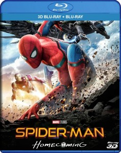 Spider-Man: Homecoming 3D Blu-Ray+Blu-Ray - 10228063