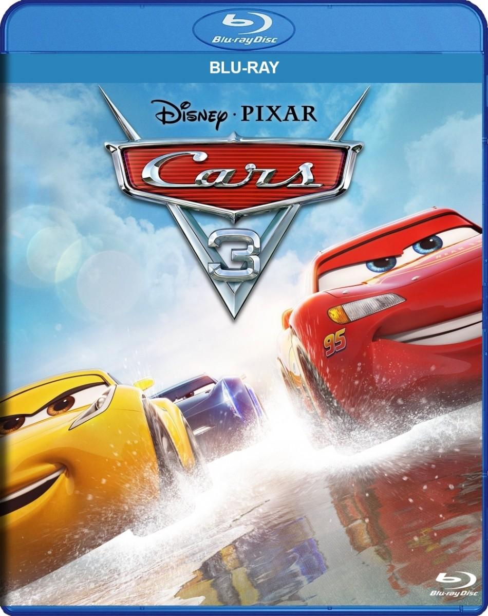 cars 3 blu ray echo 39 s record bar online store. Black Bedroom Furniture Sets. Home Design Ideas