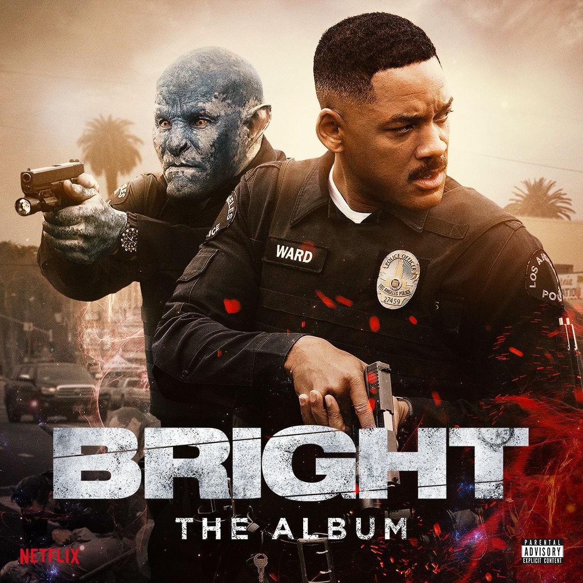 Bright: The Album CD - ATCD 10438