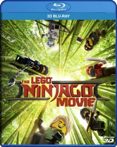 The LEGO Ninjago Movie 3D Blu-Ray - Y34822 BDW