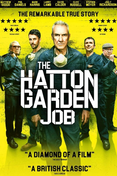 The Hatton Garden Job (One Last Heist) DVD - SVVD-259