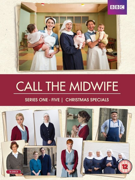 Call the Midwife Series 1-5 DVD - LBBCDVD4107