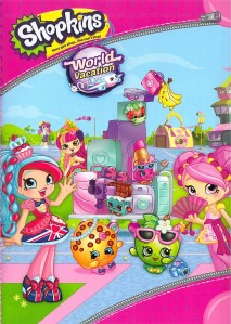 Shopkins World Vacation DVD - 653012 DVDU