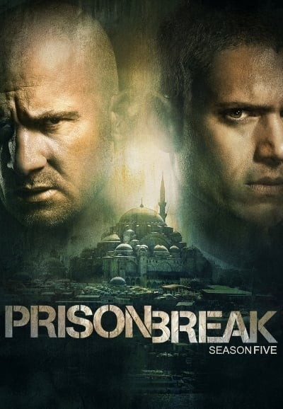Prison Break: Season 5 - Event Series DVD - 70820 DVDF