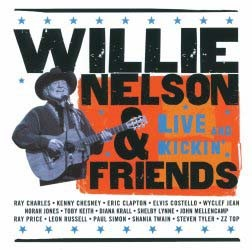 Willie Nelson - Willie Nelson & Friends - Live And Kickin' CD - 00088 1703862