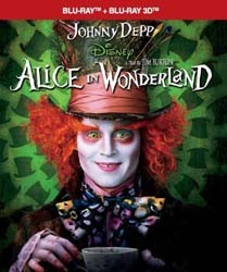 Alice in Wonderland 3D Blu-Ray+Blu-Ray - 10217846