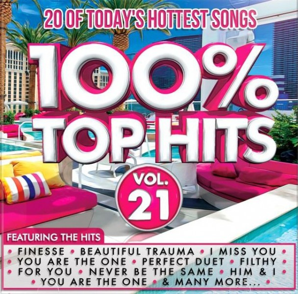 100% Top Hits Vol. 21 CD - CSRCD413