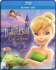 Tinker Bell and the Great Fairy Rescue Blu-Ray+DVD - 10217884