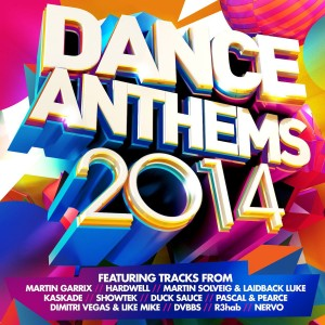 Dance Anthems 2014 CD - CDJUST 680