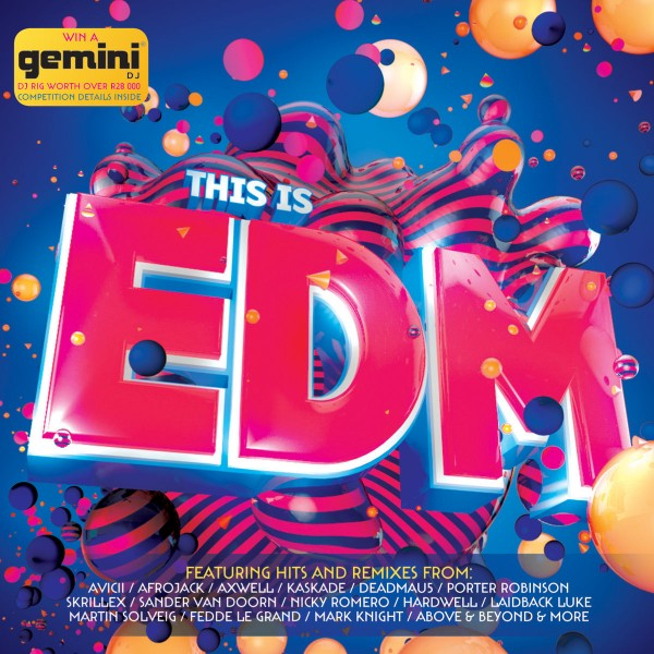 This Is EDM CD - CDJUST 558