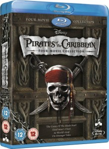 Pirates Of The Caribbean 4 Movie Collection Blu-Ray - 10219354