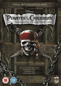 Pirates Of The Caribbean 4 Movie Collection DVD - 10219355