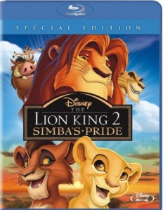 The Lion King 2: Simba's Pride Blu-Ray+DVD - 10219534