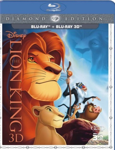 The Lion King 3D Blu-Ray+Blu-Ray - 10219538