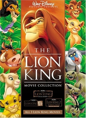 The Lion King Boxest DVD - 10219756