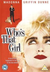 Madonna - Who's That Girl DVD - 11758 DVDW