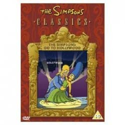 The Simpsons - Go To Hollywood DVD - 14389 DVDF