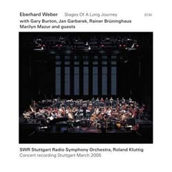 Eberhard Weber - Stages Of A Long Journey CD - 1723518