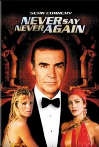 007 James Bond: Never Say Never Again DVD - 19882 DVDF